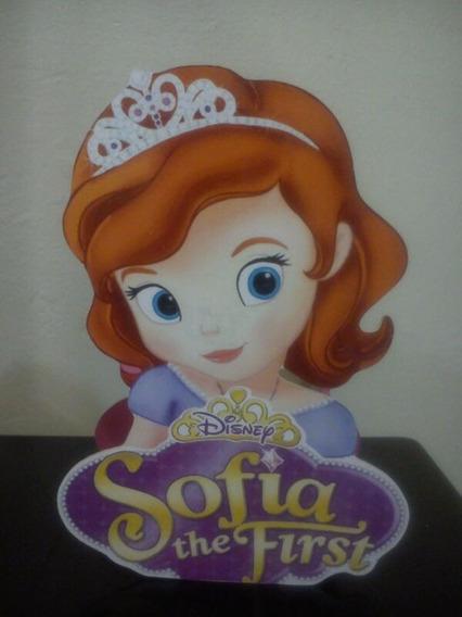 Centro De Mesa De Princesa La Sofía Para Fiestas Infantiles