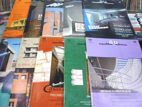 Lote De 10 Revistas Arquitetura E Construção