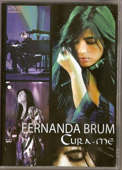 Dvd Fernanda Brum - Cura - Me - Novo***