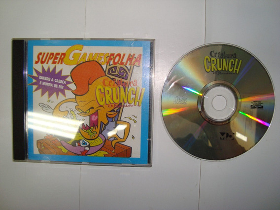 Cd - Game - Criatura Crunch - Folha