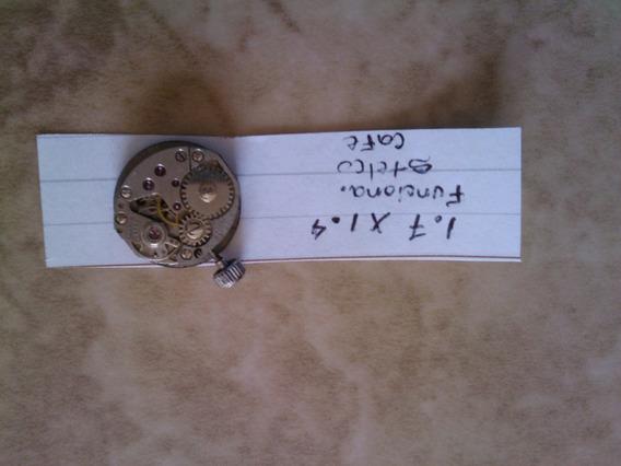 Maquinaria De Reloj Stelco, Haste