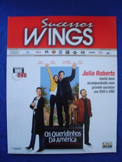 Revista Sucessos Wings / Os Queridinhos Da América