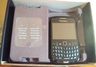 077 Cll- Blackberry Curve 8520 Smartphone Claro- Funcionando