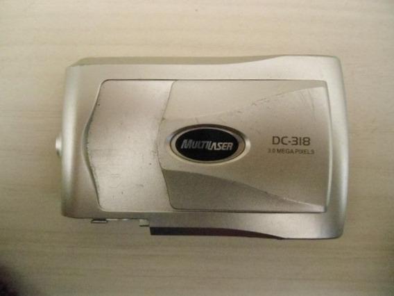 Carcaça Frontal Da Câmera Multilaser Dc-318