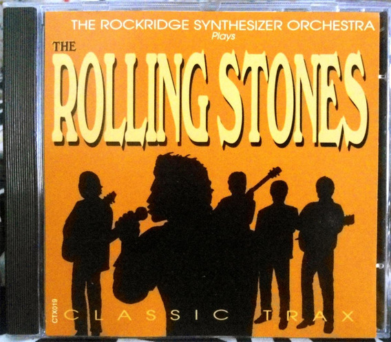Cd Rockridge Synthesizer Orchestra Plays The Rolling Stones