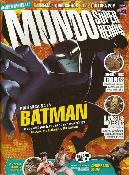 Mundo Dos Super-herois 32 - Europa - Bonellihq Cx109 I19