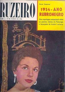 O Cruzeiro - Flamengo Bi-campeão - Marta Rocha - 1955