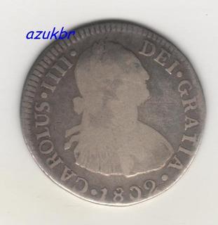 * Mest0291 - Peru / Lima - 2 Reales 1802 Limae I J - Bc *
