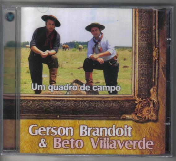 Gerson Brandolt & Beto Villaverde - Um Quadro De Campo -cd