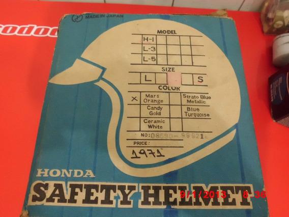 Capacete Honda Shoei-antigo