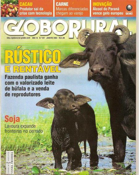 Globo Rural - Rústico E Rentável (leite De Búfala)/ Cacau