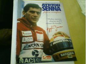 Revista Ayrton Senna Especial Para Sempre Abril 20pag