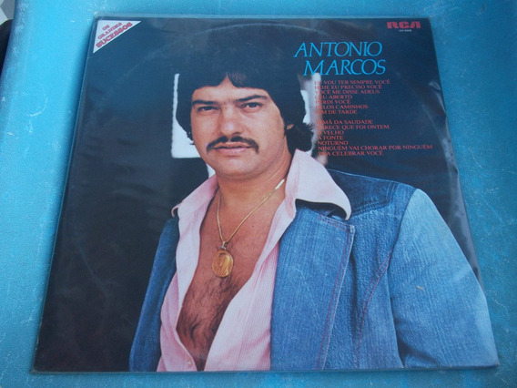 Lp Zerado Antonio Marcos Os Grandes Sucessos Eu Vou Ter 9