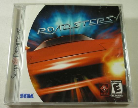 Dreamcast: Roadsters Americano Completo! Raríssimo! Jogaço!