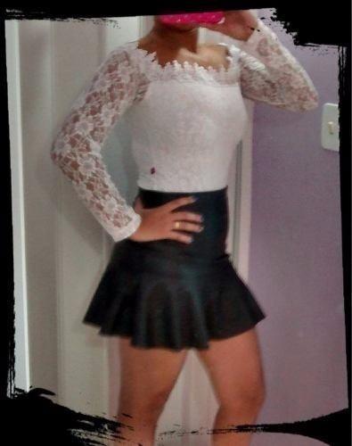 Body De Renda E Tule, Plus Size