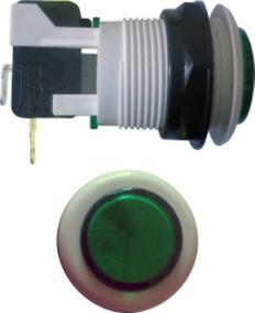 Botão De Comando Liga Desliga Power Chave (verde)