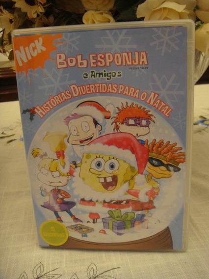 Dvd Bob Esponja E Amigos Historias De Natal