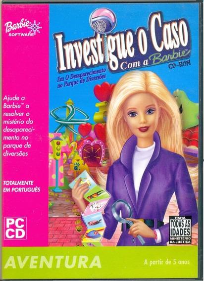 Game Pc Lacrado Investigue O Caso Com A Barbie