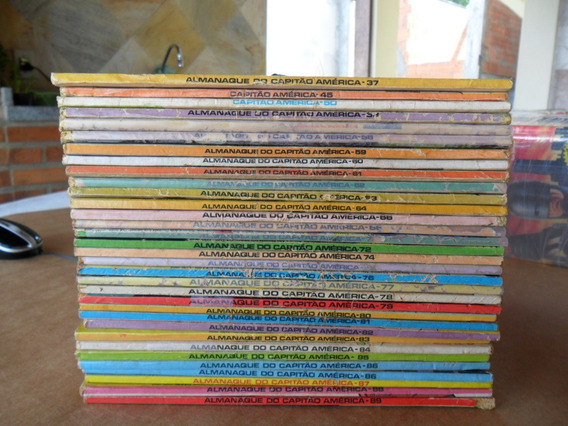 Capitão América! Editora Abril 1979-1997! R$ 15,00 Cada!