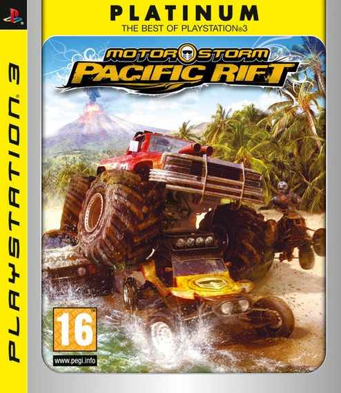 Game Motorstorm Pacific Rift Platinum - Ps3 (r2 Novo Lacrad)