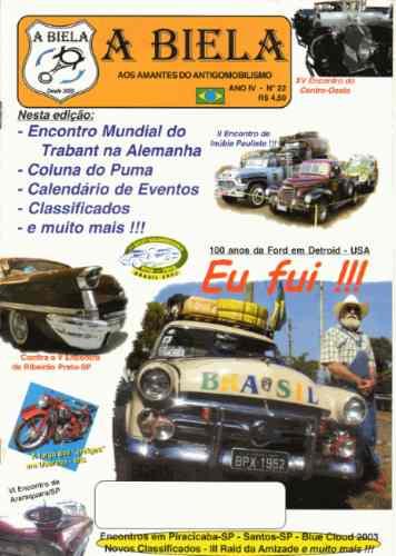 A Biela Nº22 Revista De Carros Antigos