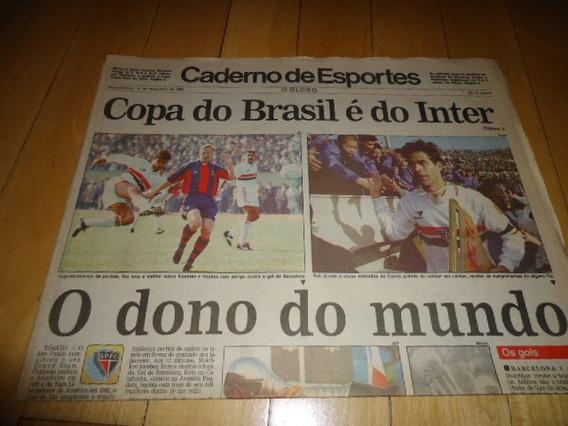 +m+ Jornal O Globo - São Paulo Campeão Mundial 92