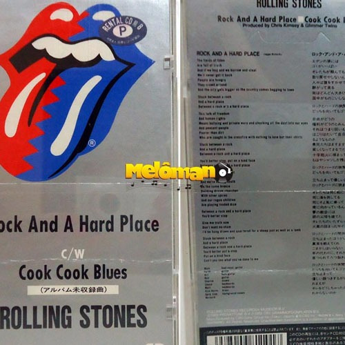 Rolling Stones 1989 Rock And A Hard Place Cd 3 Polegadas