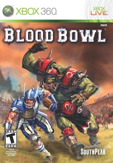 Jogo Novo Lacrado Blood Bowl Ntsc Para Xbox 360 P/entrega