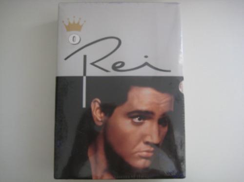 Elvis Presley Dvd Box O Rei 3 Dvds Originais Lacrado