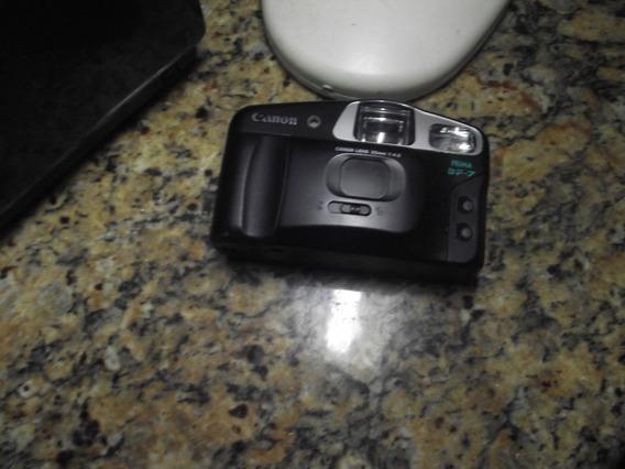 Câmera Fotografica Canon-antiga Com Flash Imbutido
