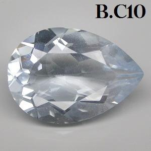 Excelente Azulada Aquamarine Pedra 7.45 Cts.