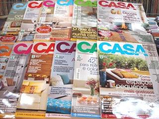 Lote De 12 Revistas Casa Claudia - Ano 2006 Completo