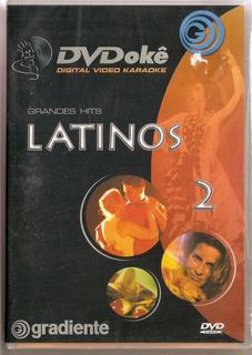 Dvdokê - Grandes Hits Latinos 2 - Novo***