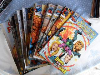 Quarteto Fantástico E Capitão Marvel! Vários! R$ 10,00 Cada!