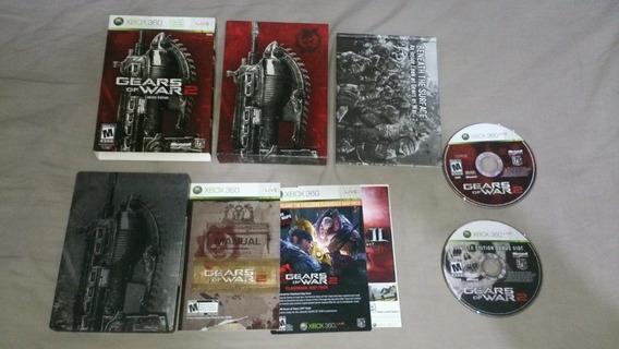 Gears Of War 2 Edição Colecionador Americano Xbox360