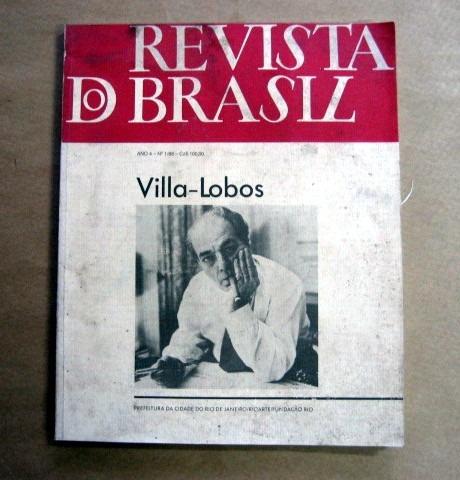 Revista Do Brasil / Villa-lobos / 1/88 / Fundação Rio