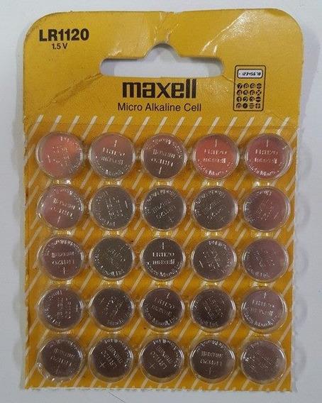 Kit Com 48 Baterias Maxell Lr1120 1.5v Alkaline C/ 10 Uni
