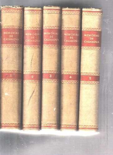 Coleção Completa Memórias De Casa Nova - Historia, Biografia