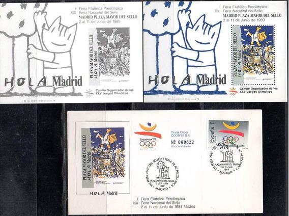 España 1989 - Pro Juegos Olimpicos De Barcelona 1992