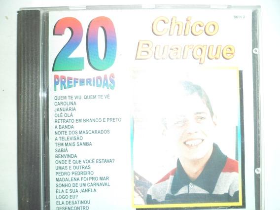 Cd Nacional - Chico Buarque - 20 Preferidas Frete 10,00
