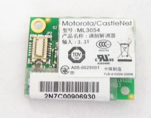 Placa Mini Modem Motorola Notebook Amazon Pc Optimum Ml3054