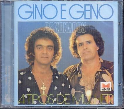 Cd Gino E Geno 4 Tipos De Mulher Carta Registrada Lacrado
