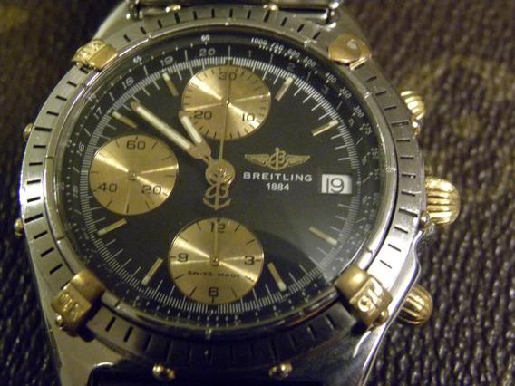 Breitling Chronomat Aço E Ouro Automatic Original +brinde