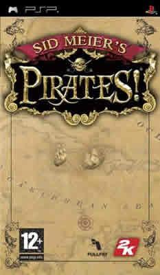 Psp Sid Meiers Pirates - Novo - Lacrado