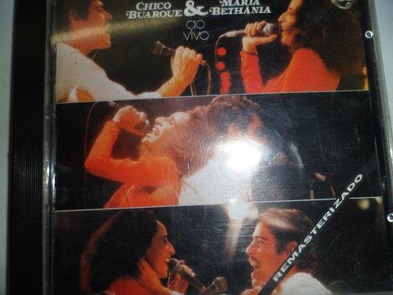 Cd - Chico Buarque & Maria Bethania - Ao Vivo Frete 10,00