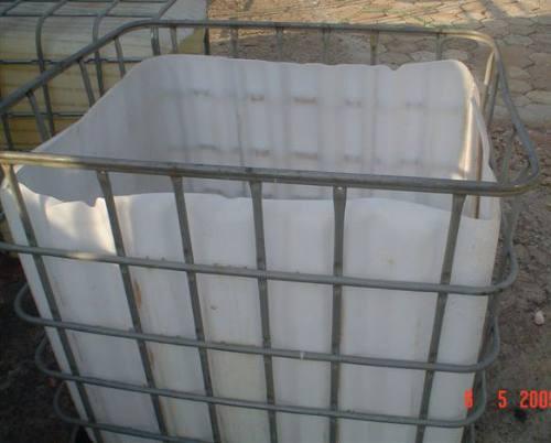 Containers Caixa Plástica Ibcs 1000l Aberto Pode Por Rodinha