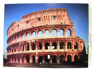 Fotografia / Poster - Coliseu De Roma - Itália