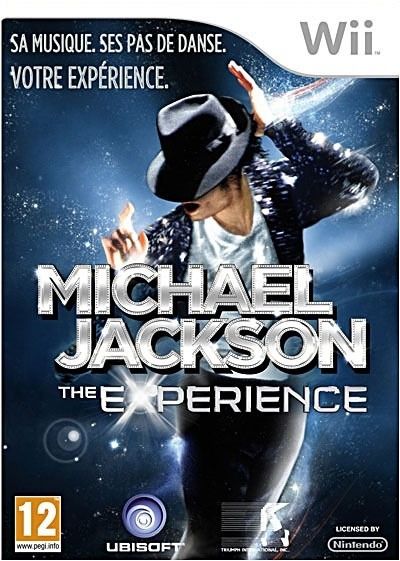 Jogo Original Wii Michael Jackson The Experience Original