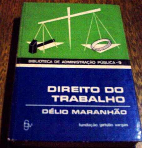 Direito Do Trabalho, De Délio Maranhão - 1ª Ediçao