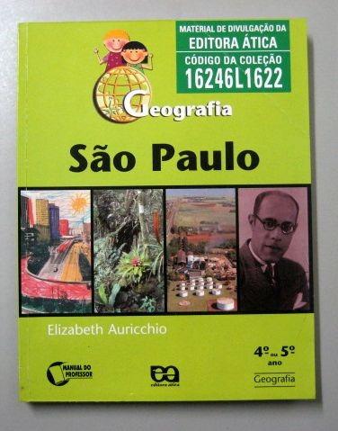 Geografia São Paulo - 4o Ou 5o Ano - Elizabeth Auricchio